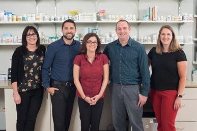 RMCC, Denver-Rose Medical. Pharmacy team.