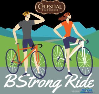 B Strong Ride Logo
