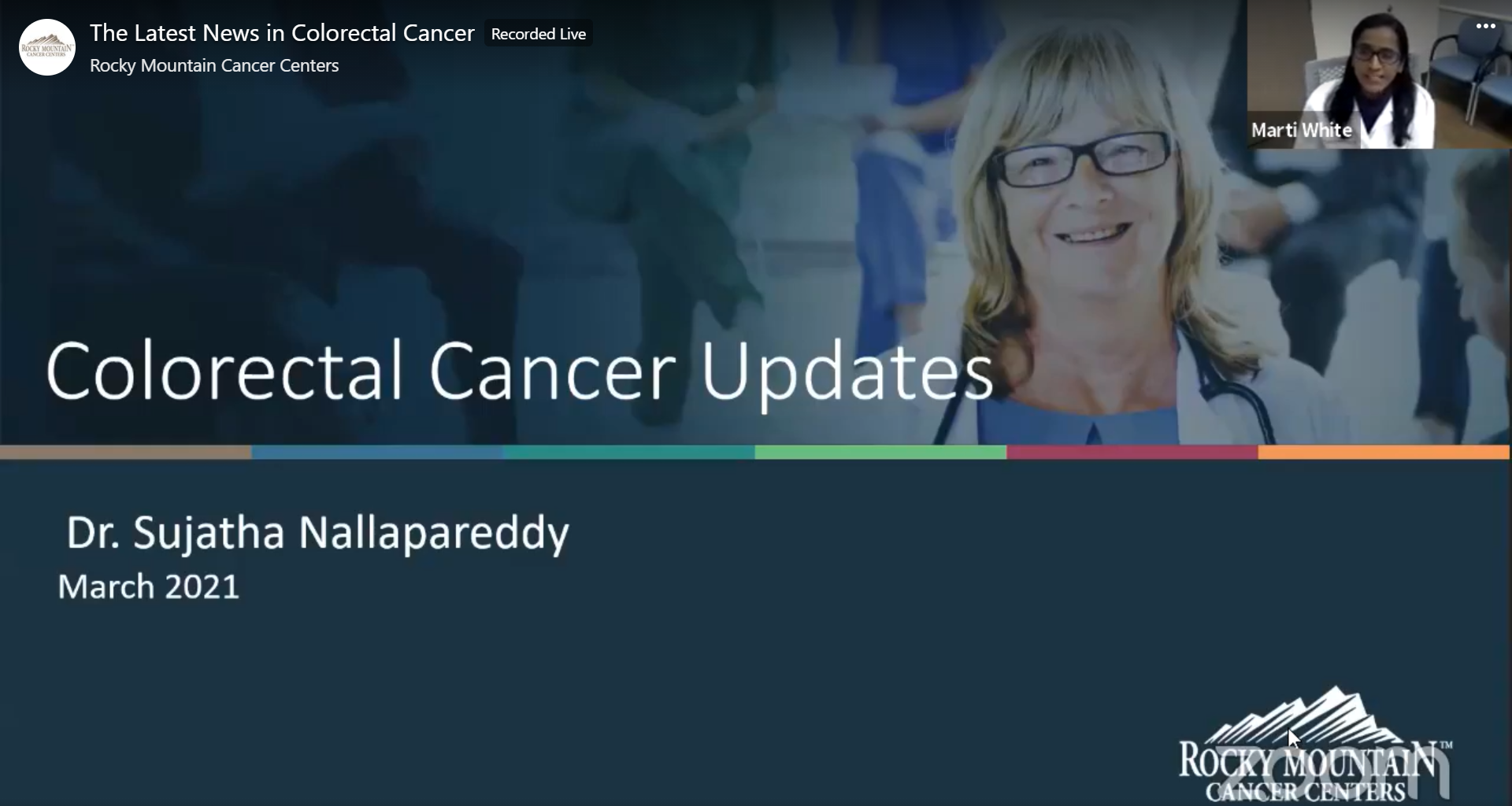The Latest News in Colorectal Cancer