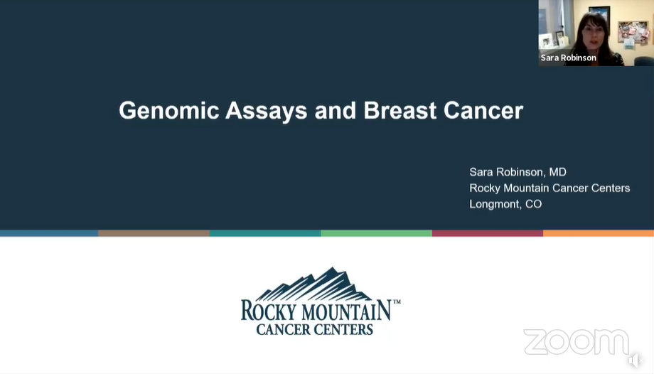 Genomic Assays and Breast Cancer