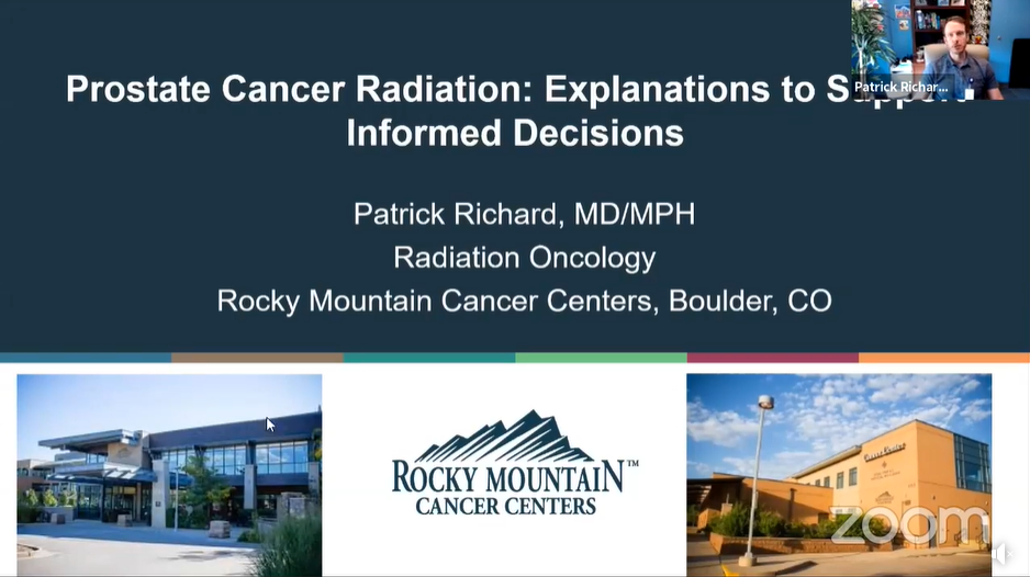 Prostate Cancer Radiation: Explanations to Support Informed Decisions