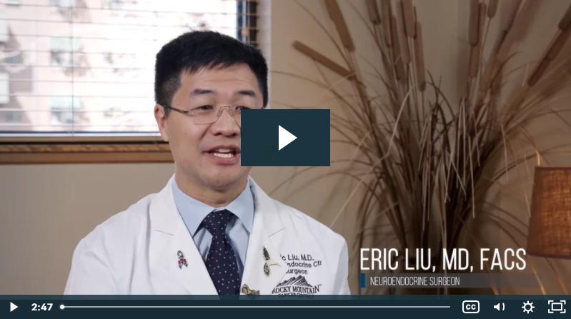Welcome from Dr. Eric Liu, Neuroendocrine Surgeon